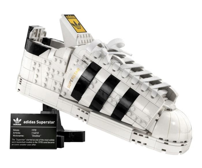 Lego Botanical Collection - Adidas Original Sneaker