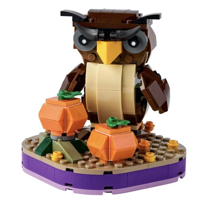 Lego Botanical Collection - Halloween Owl