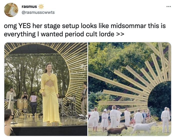 Lorde Solar Power Memes - midsommar
