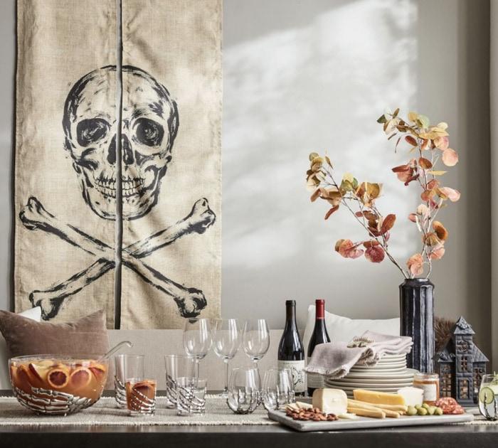 Pottery Barn Halloween - Skull Banners