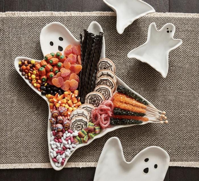 Pottery Barn Halloween - Ghost Serving Dish