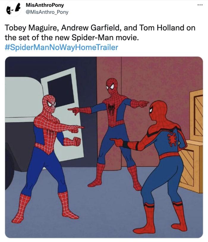 Spider-Man No Way Home Trailer Leak Memes - Garfield