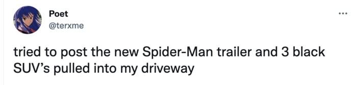 Spider-Man No Way Home Trailer Leak Memes - SUV
