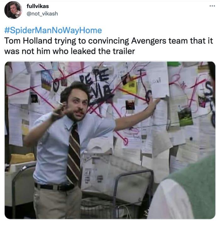 Spider-Man No Way Home Trailer Leak Memes - explaining