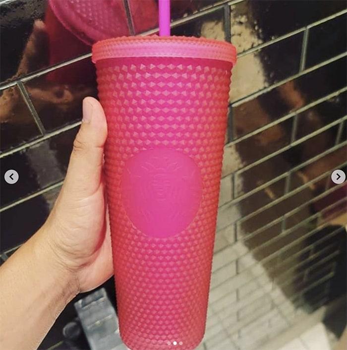 Starbucks Fall Cups 2021 - Neon Pink Tumbler