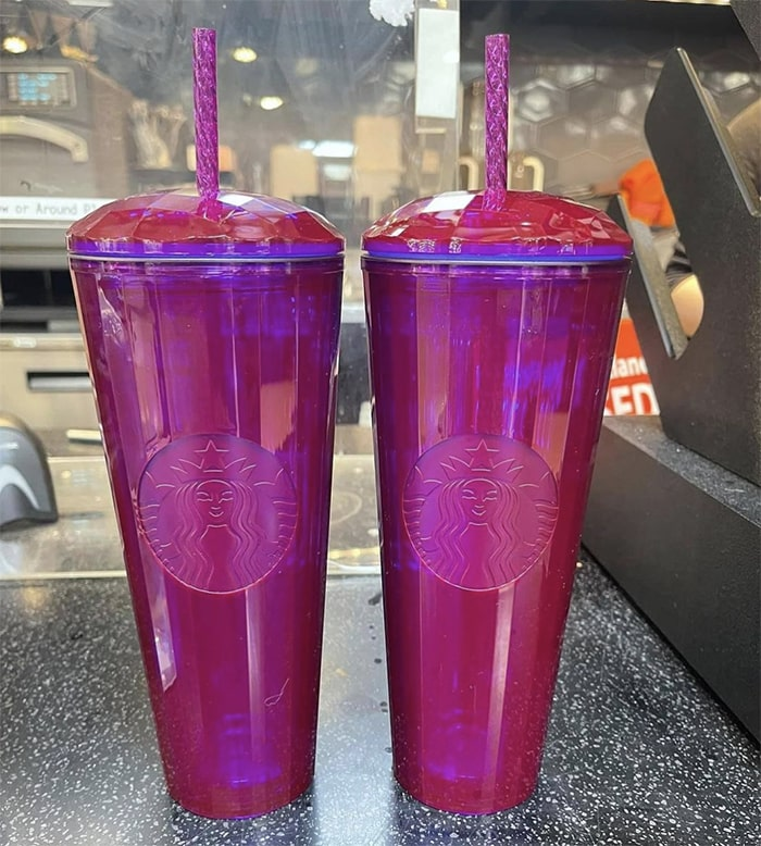 Starbucks Fall Cups 2021 - Hot Pink Dome Tumbler