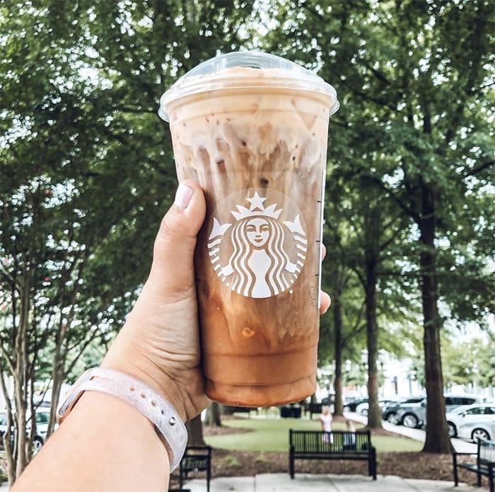 Starbucks Fall Drinks - Pumpkin Cold Brew