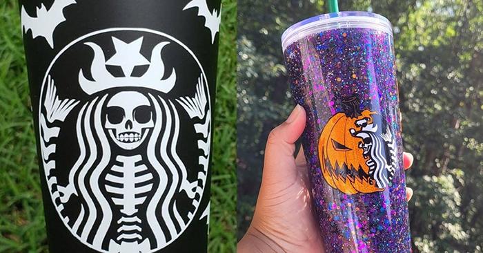 Starbucks Halloween Cups