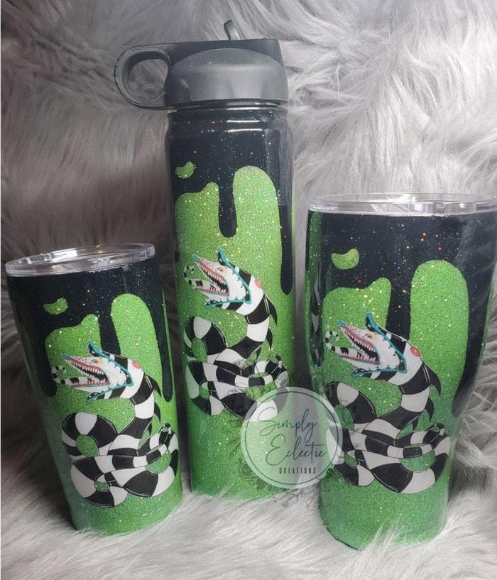 Starbucks Halloween Cups - Beetlejuice Sandworm