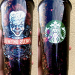 Starbucks Halloween Cups - Pennywise It