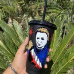 Starbucks Halloween Cups - Michael Myers