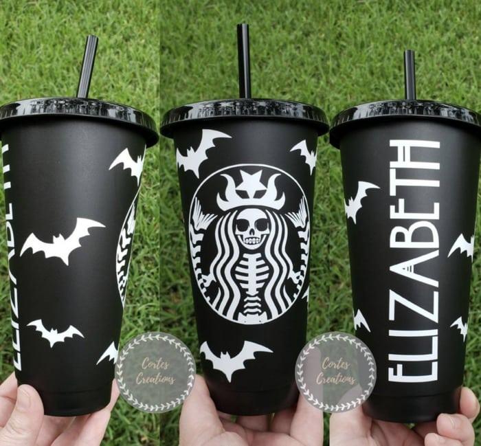 Starbucks Halloween Cups - Skull Memaid
