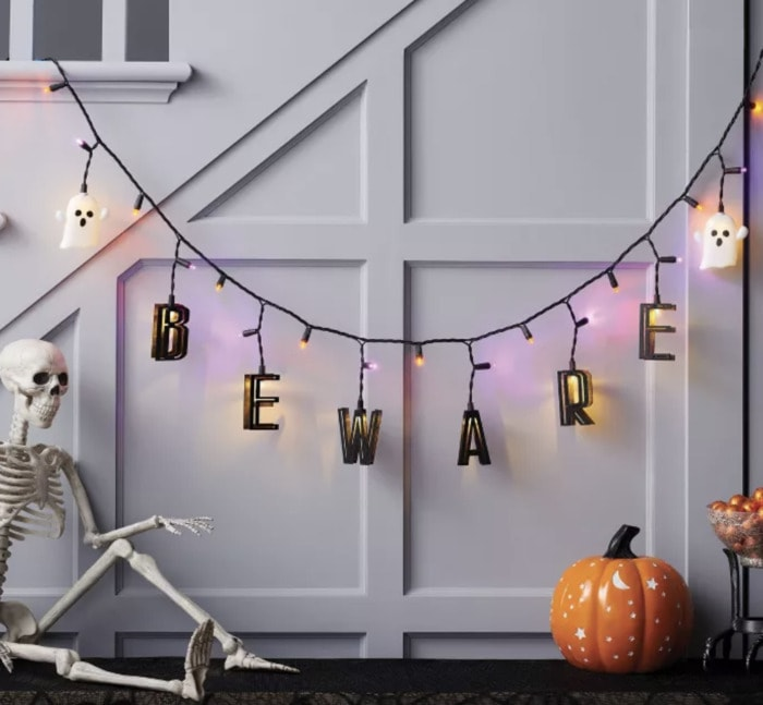Target Halloween Hyde and Eek 2021 - Lighted Beware Sign