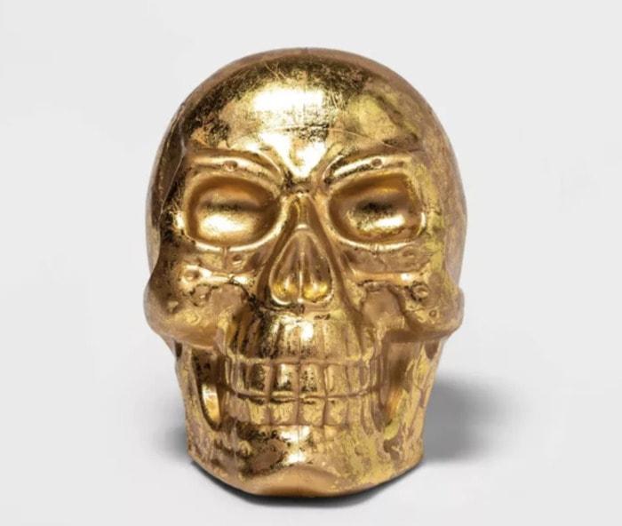 Target Halloween Hyde and Eek 2021 - Gold Skull