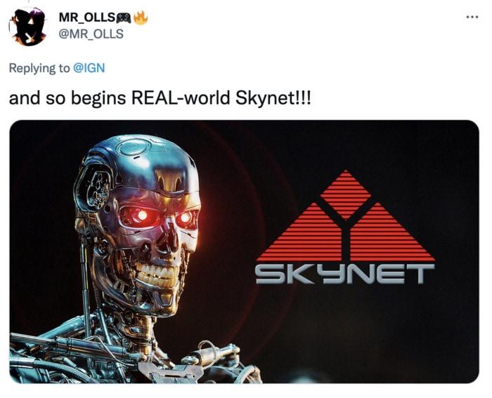 Tesla Bot Memes - Skynet