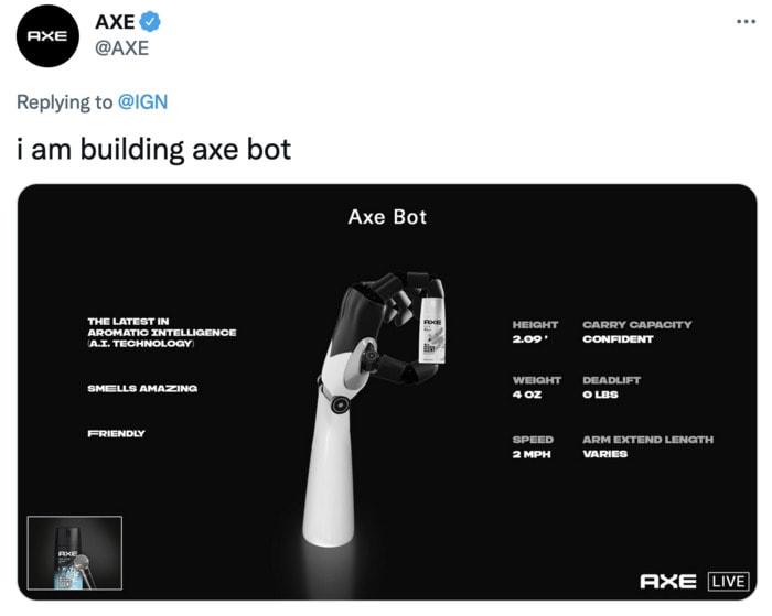 Tesla Bot Memes - body spray