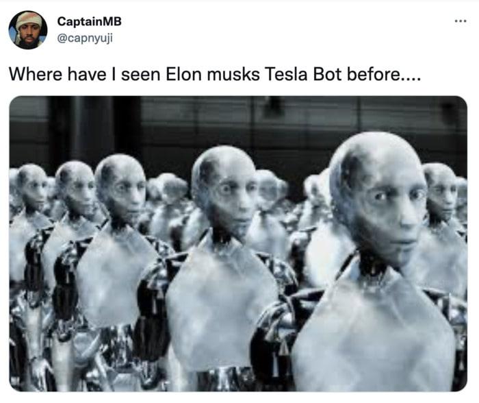 Tesla Bot Memes - iRobot