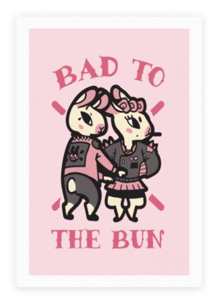 Bad Puns - bad to the bun