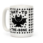 Bat Puns - Bat to the Bone Mug
