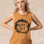 Bread Puns - burnt out tank top