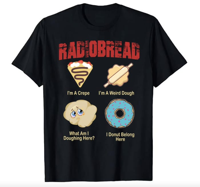 Bread Puns - radiobread graphic tee
