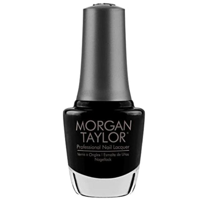 Fall Nail Colors - Morgan Taylor Black Shadow