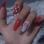 Fall Nail Ideas - mushroom nails