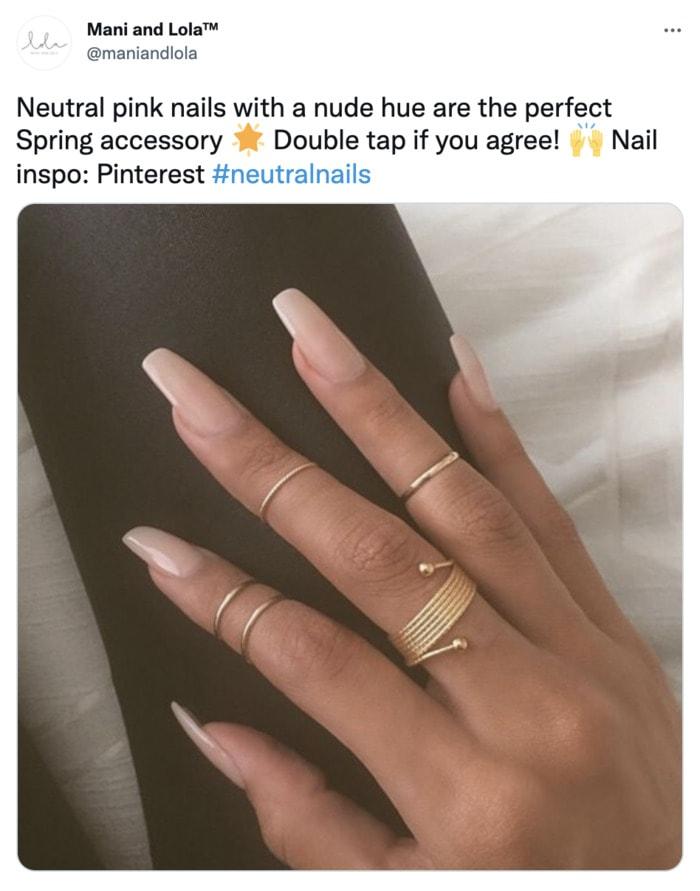 Fall Nail Ideas - neutral nails
