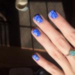 Fall Nail Ideas - earthy pebble nails