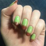 Fall Nail Ideas - caramel apple nails
