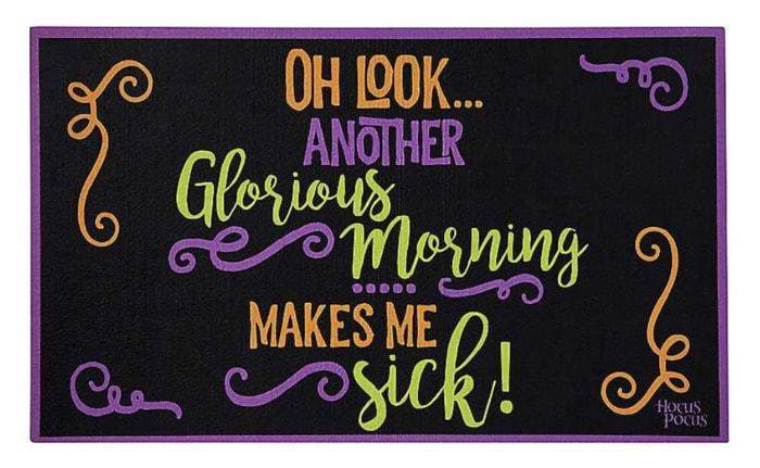 Hocus Pocus Gifts - Glorious Morning Doormat