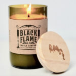 Hocus Pocus Gifts - Black Flame Candle