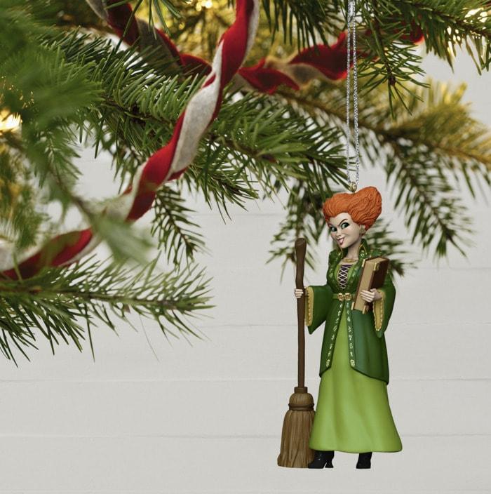 Hocus Pocus Gifts - Winifred Sanderson Hallmark Ornament