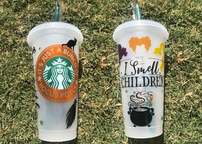 Hocus Pocus Gifts - I Smell Children Starbucks tumbler