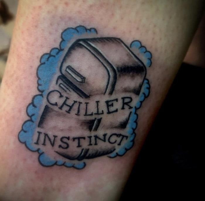Pun tattoos - chiller instinct