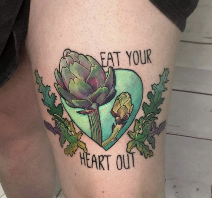 Pun tattoos - eat your heart out