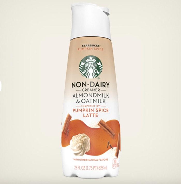 Starbucks Pumpkin Drinks - Pumpkin Spice Latte Non-Dairy