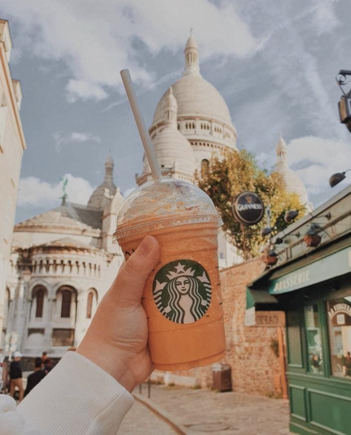 Starbucks Pumpkin Drinks - Pumpkin Spice Frappuccino