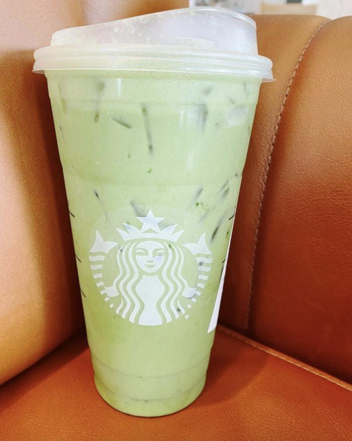Starbucks Secret Menu - Iced Matcha Chai Latte