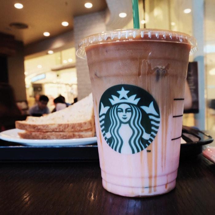 Starbucks Secret Menu - Raspberry Caramel Macchiato