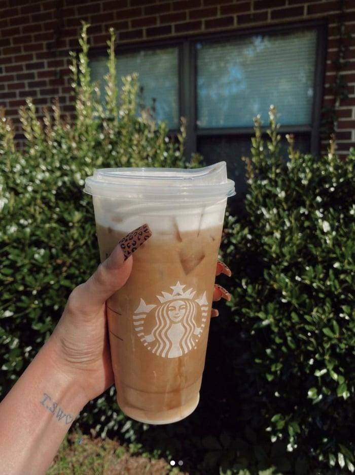 Starbucks Secret Menu - Salted Caramel White Mocha Cold Brew