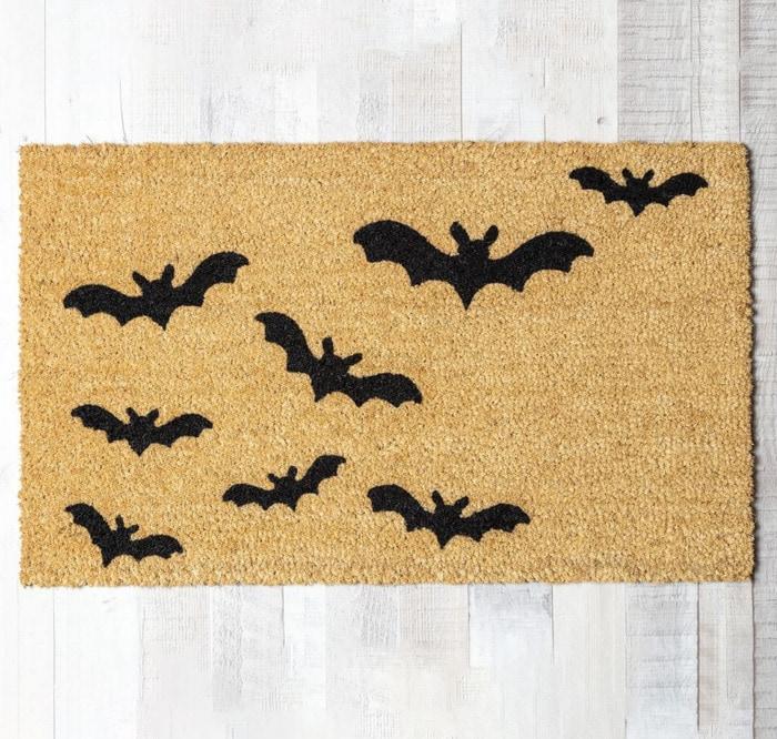 West Elm Halloween Collection - Halloween Bat Doormat