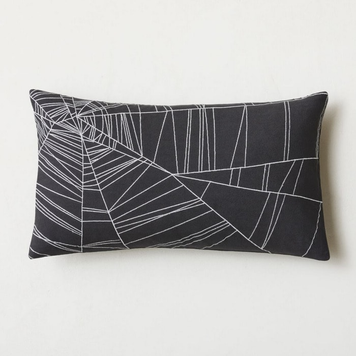 West Elm Halloween Collection - Spider Web Pillow Cover