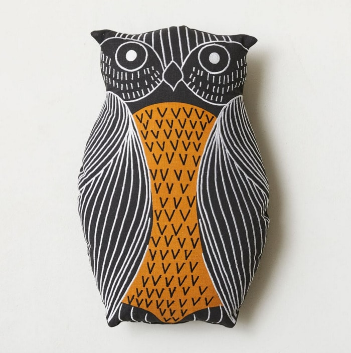 West Elm Halloween Collection - Owl Pillow