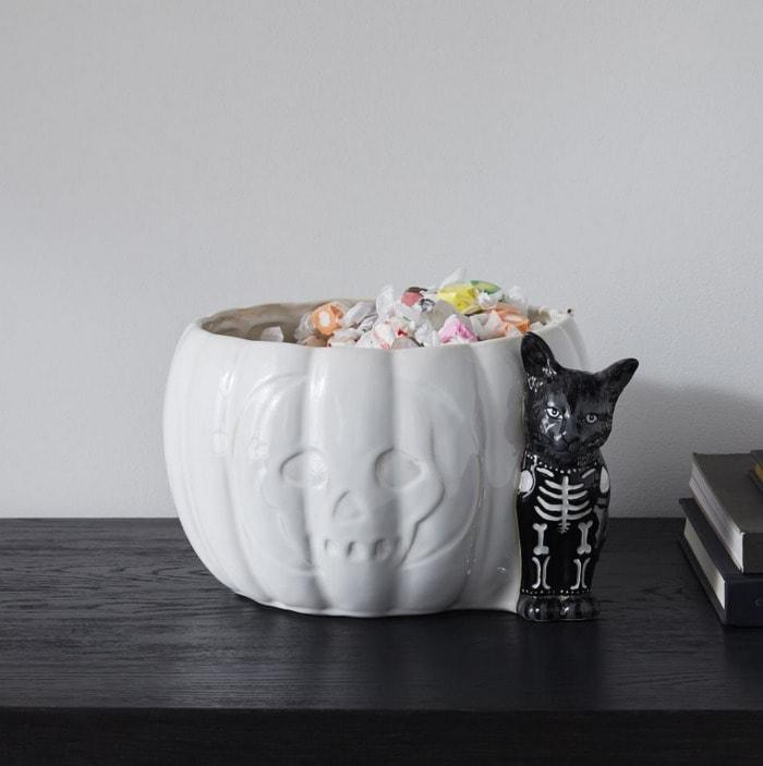 West Elm Halloween Collection - Dapper Animal Haloween Candy Bowl