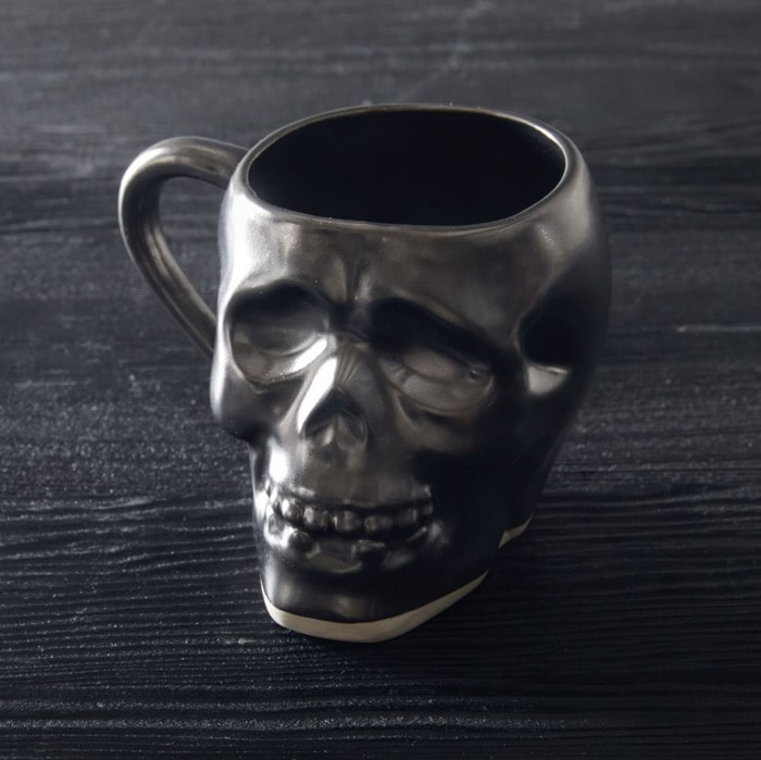 West Elm Halloween Collection - Skull Mug