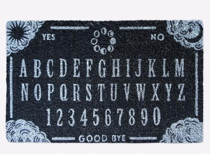 West Elm Halloween Collection - Halloween Spirit Board Doormat