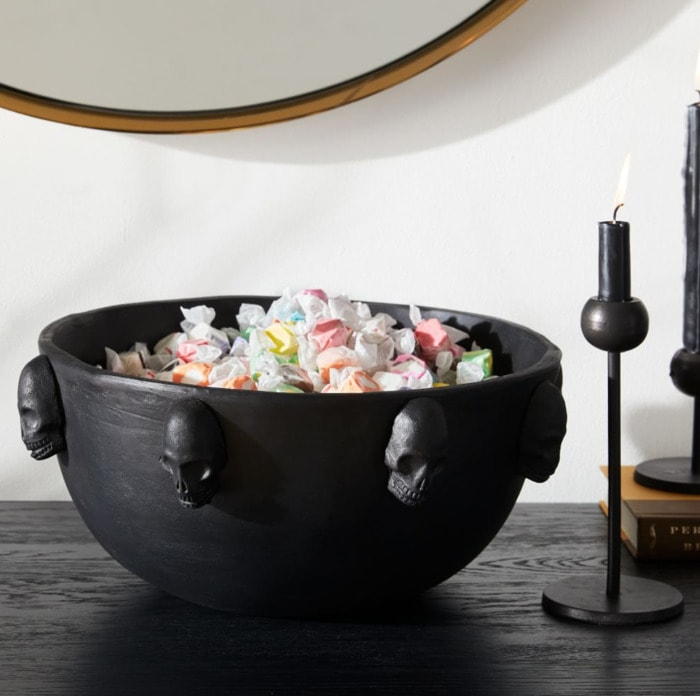 West Elm Halloween Collection - Skull Candy Bowl
