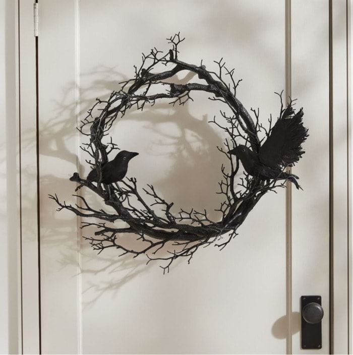 West Elm Halloween Collection - Spooky Wreath