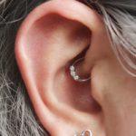 Daith Piercing - hoop jewelry